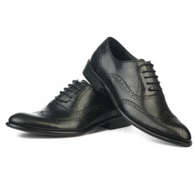Kožne muške cipele S8036-8 crne