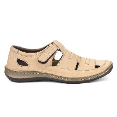 Kožne muške letnje cipele 9562 bež