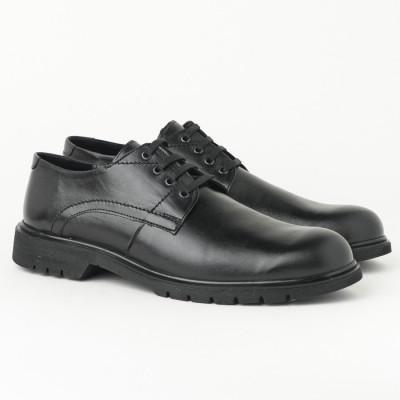 Muške kožne cipele 5616-01 crne