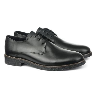 Muške kožne cipele 5831 crne