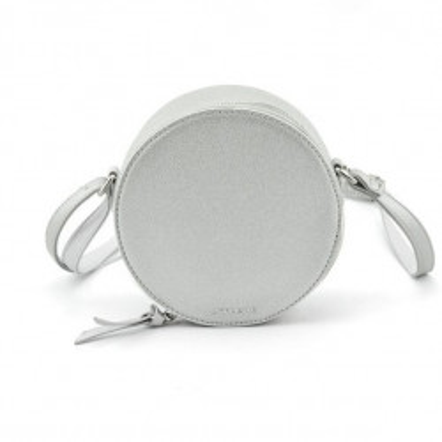 Okrugla torba T021000 srebrna