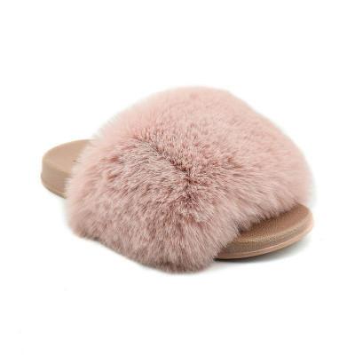 Ravne papuče LP020354-1 bež