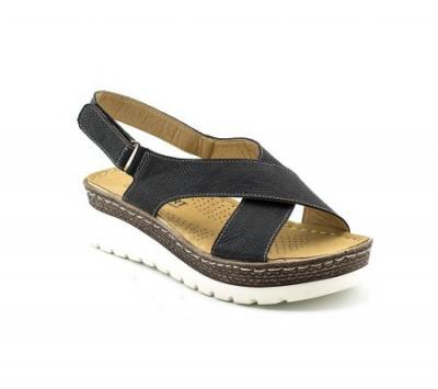 Sandale na debelom đonu LS90086 crne