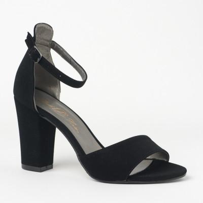 Sandale na deblju petu 27 crne