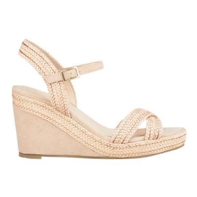 Sandale na platformu F92 svetlo roze
