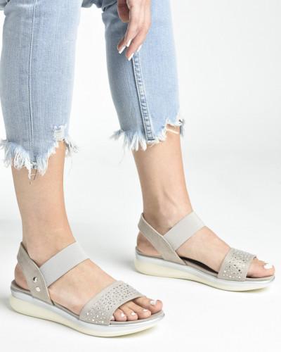 Udobne sportske sandale S481 bež