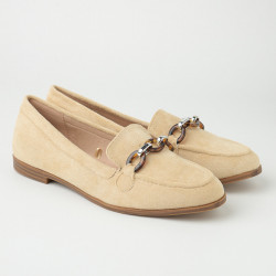 Ženske cipele/mokasine L055332 bež