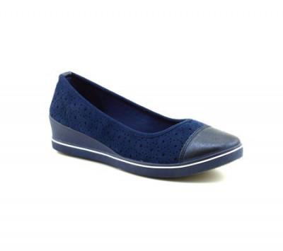Ženske cipele / mokasine L80840-1 teget