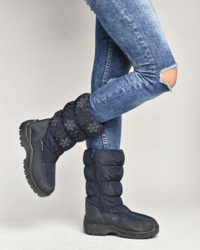 Ženske čizme za sneg LX96302 teget