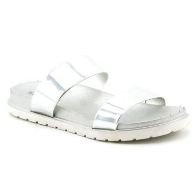 Ženske papuče LP91306 srebrne