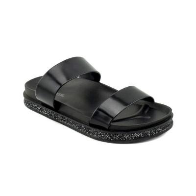 Ženske ravne papuče LP020372 crne