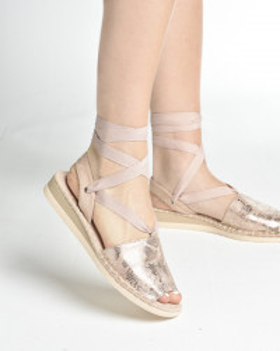 Ženske sandale/espadrile LS062029 roze