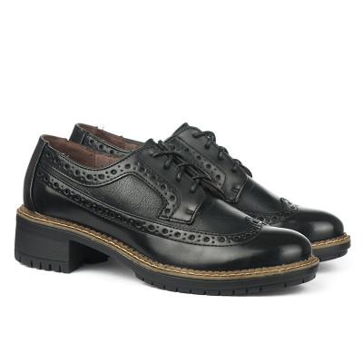 Cipele na pertlanje C1738 crne