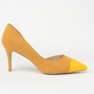 Cipele na štiklu 18821 žute