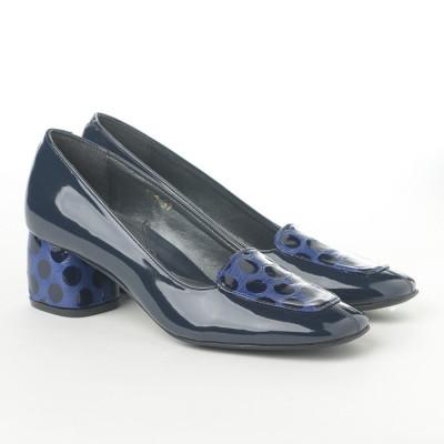 Cipele sa kožnom postavom N-131/5 teget