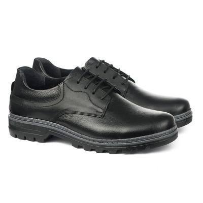 Kožne muške cipele 1415 crne