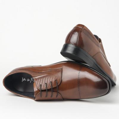 Kožne muške cipele 550-032 braon