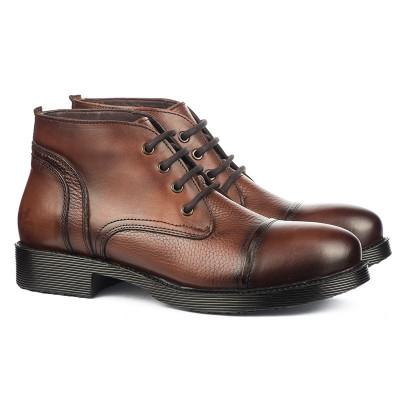 Kožne muške cipele N4152 braon
