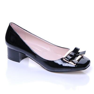 Lakovane cipele L16014 crne
