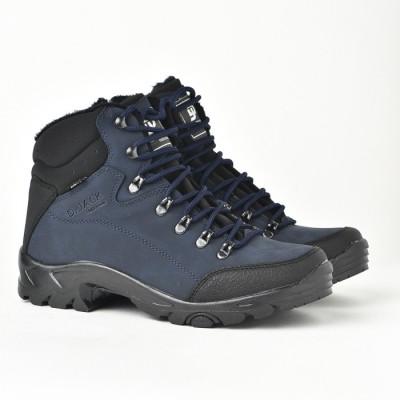 Muške duboke cipele 1117 teget