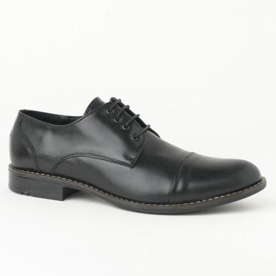 Muške kožne cipele 3273-01 crne