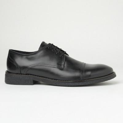 Muške kožne cipele Gazela 3121 crne