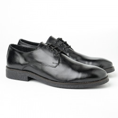 Muške kožne cipele Gazela 7010/01 crne