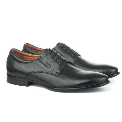 Muške kožne cipele HL956F-15-N3 crne