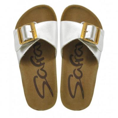 Papuče za devojčice CP17408 srebrne