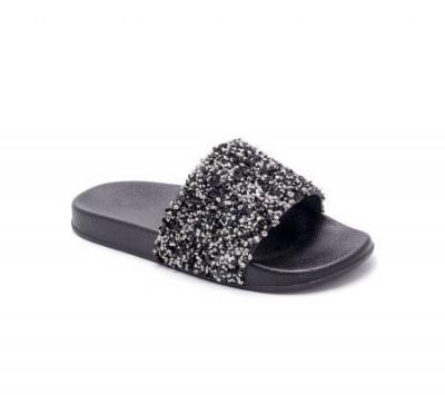 Ravne papuče LP055722 crne