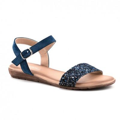 Ravne sandale LS80827-1 teget