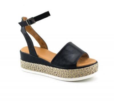 Sandale na debelom đonu LS90217 crne