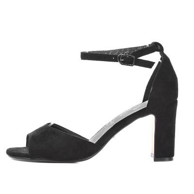 Sandale na štiklu LS241905 crne