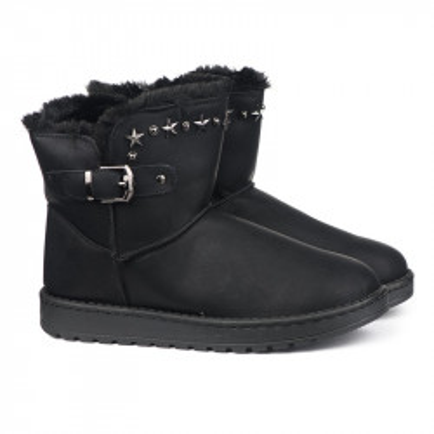 Tople čizme LH011802 crne