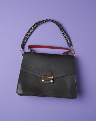 Ženska mala torbica crna