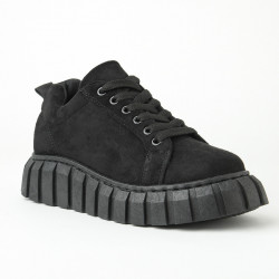 Ženske cipele/patike na debelom đonu 2028 crne