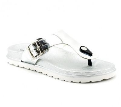Ženske papuče LP91305 srebrne