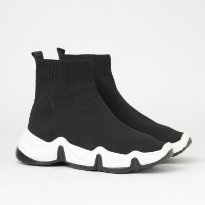 Čarape patike B40 crne