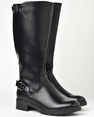 Duboke ženske čizme LX601923 crne