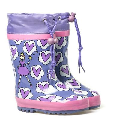 Gumene čizme G14 ljubičaste