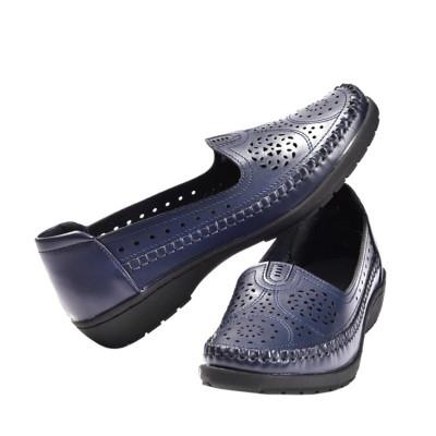 Kožne cipele L13A801 teget