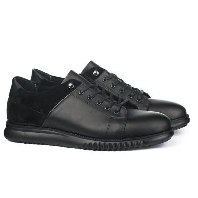 Kožne muške cipele 4072 crne