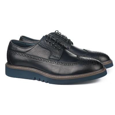 Kožne muške cipele PA121715-1-Q102 teget