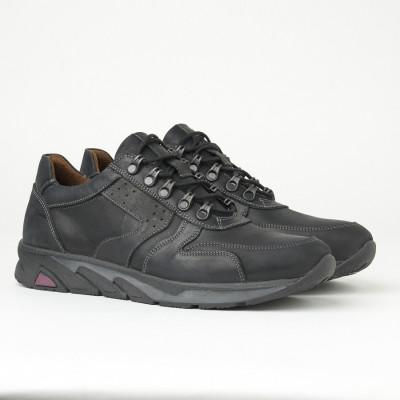 Kožne muške cipele/patike 315 crne