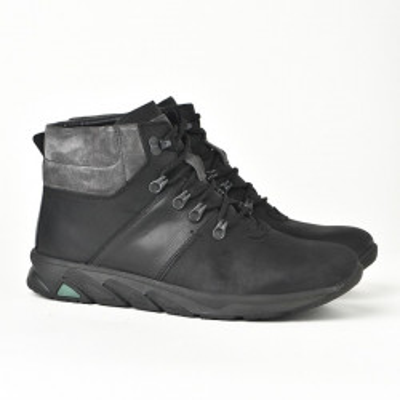 Kožne muške cipele/patike 321 crne