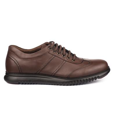 Kožne muške cipele/patike Cool 01 braon