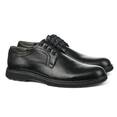 Muške kožne cipele 5313 crne