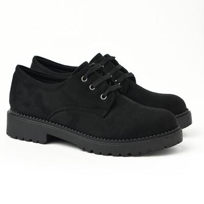 Ravne jesenje cipele 623-858 crne