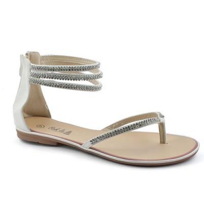 Sandale LS15425 bele