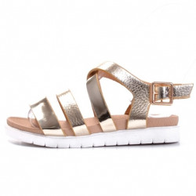 Sandale za devojčice BS27839 zlatne (brojevi od 25 do 30)